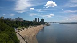 Bank of Amur river