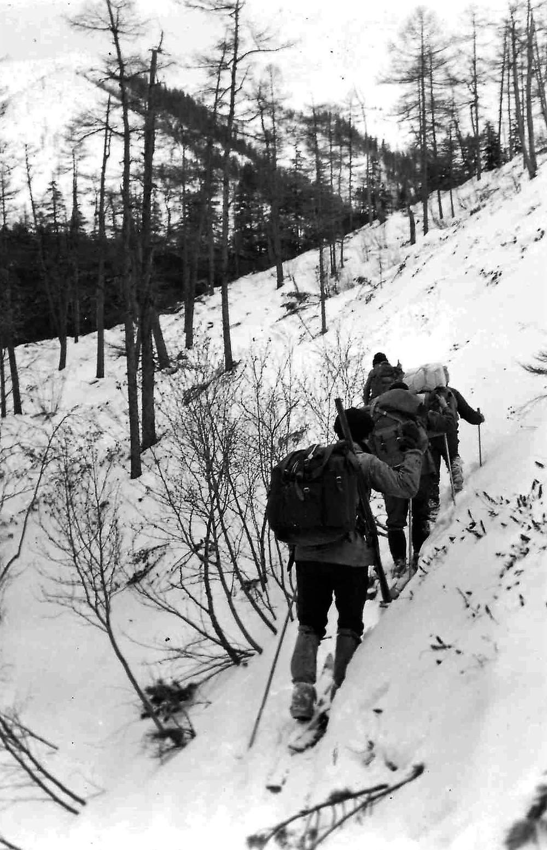 Подъем к перевалу  skitour.club  Блог Сергея Чеботова