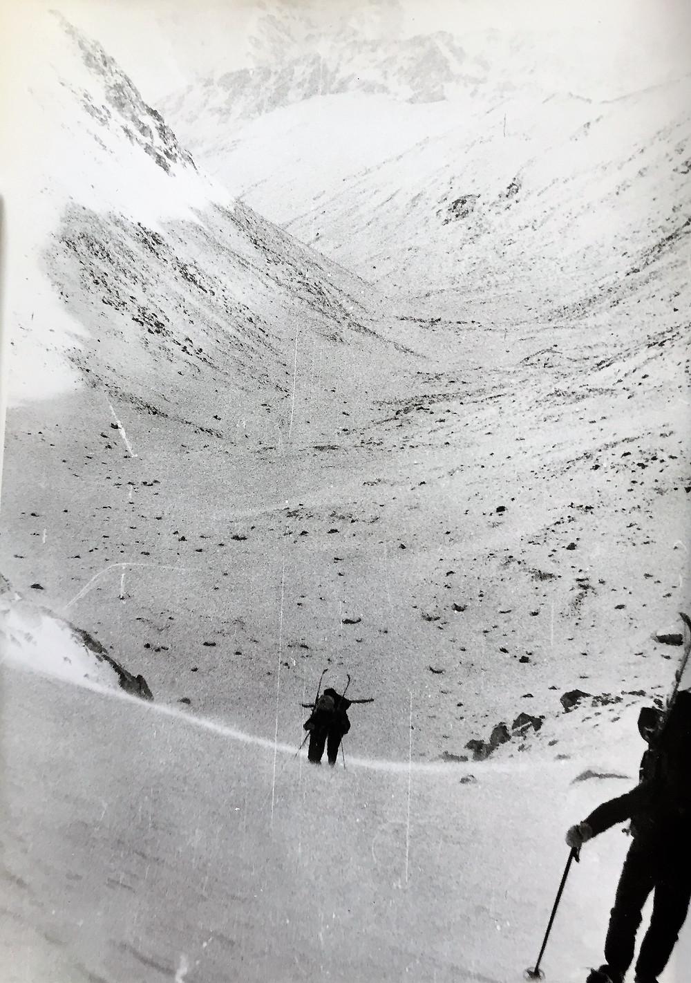 Подъем на перевал Хабаровский| skitour.club| Блог Сергея Чеботова