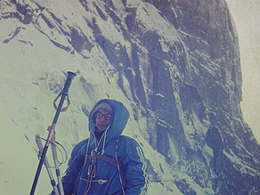 Лавина. Западные Саяны, 1984.