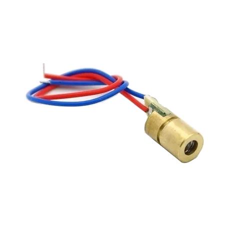 10 Unidades Laser Diodo 5v 5mw 650nm 6mm Arduino Esp8266