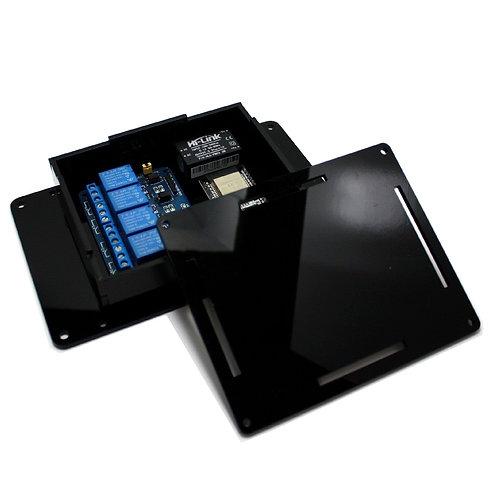 Caixa Case p/ Montagem Circuito Eletrônico G PRETA ESP8266
