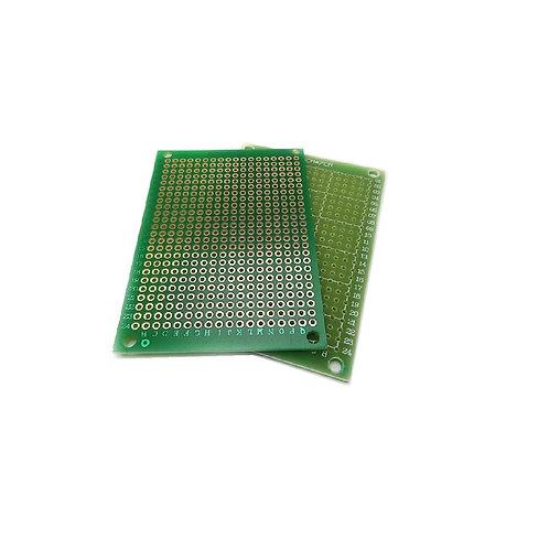 10 Unidades Pcb Mini Protoboard 5x7cm FR4 Arduino Esp8266 Esp32