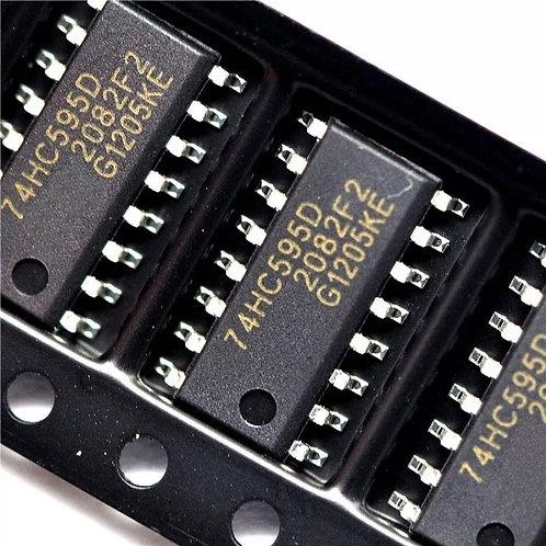 10 Unidades 74hc595 Smd Shift Register Matriz Led Arduino