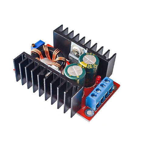 Conversor Step Up Modulo Inversor DC DC 10a32VDC P/ 12a35v 150w Esp8266 Arduino