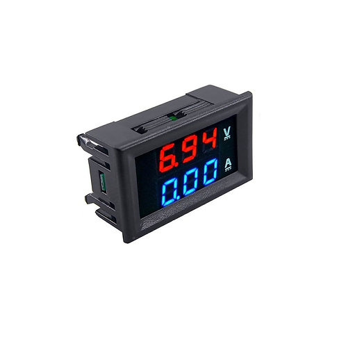 Voltimetro Amperimetro Led Dc 100v 10a Arduino Esp8266