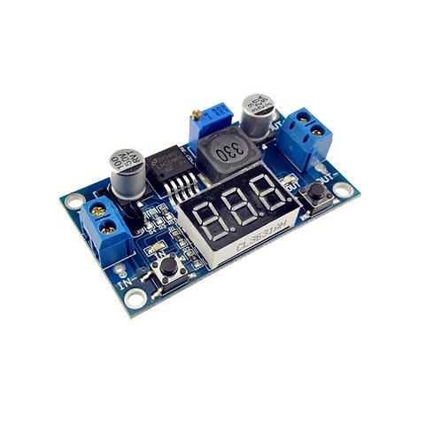 Lm2596 Com Display Regulador De Tensão Ajustável Step-down Esp8266 Arduino