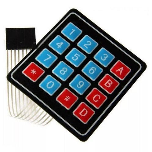 Teclado Matricial 4x4 Membrana 16 Teclas Esp8266 Arduino