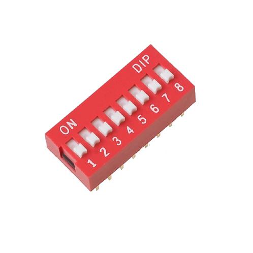 Dip Switch 8 Vias 180º Esp8266 Arduino Nodemcu X 1 Unidade