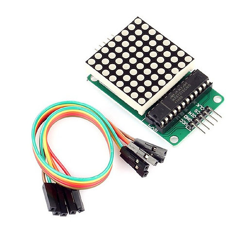 Display Max7219 Led 8x8 Dot Matrix Modulo Arduino