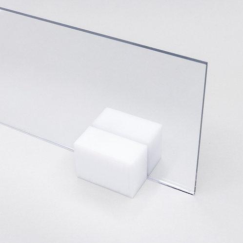 Acrilico Cristal 10x10cm 2mm Transparente Corte Laser Cnc