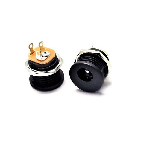 Plug Jack Tipo P4 Femea 5,5mm P/ Solda Esp8266 Arduino