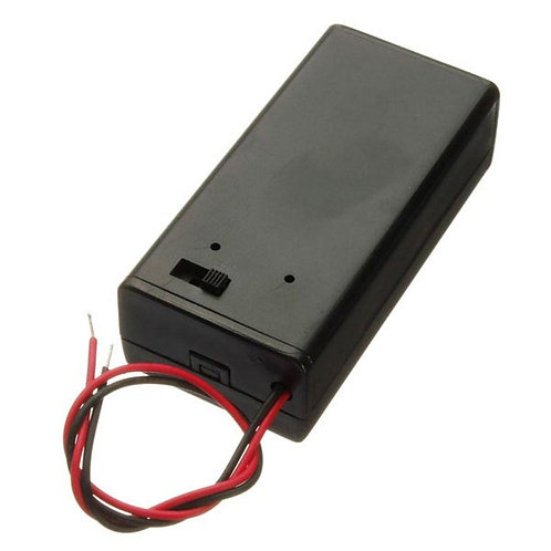 Caixa Circuito Supotorte Bateria 9v On/off Arduino Esp8266