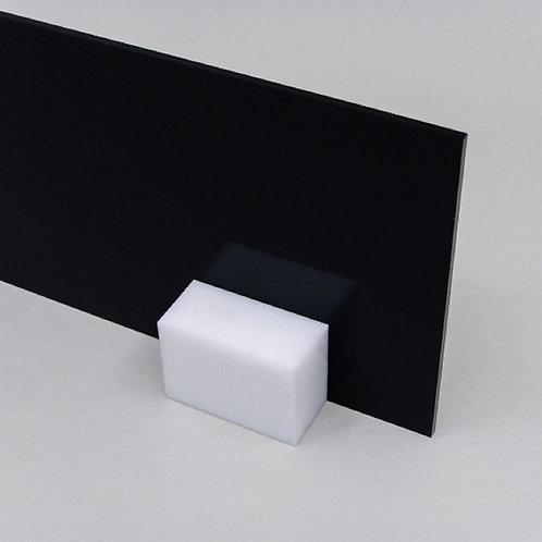 Acrilico Preto Black Piano 15x20cm 3mm Corte Laser Cnc