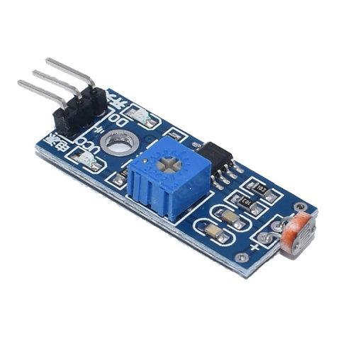 10 Unidades Sensor Ldr Modulo 5mm Fotoresistor Arduino