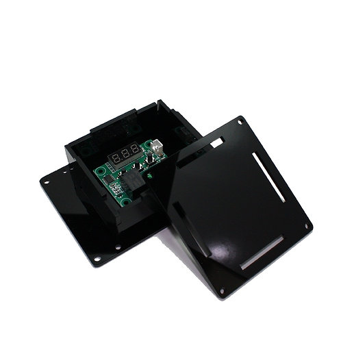 Caixa Case p/ Montagem Circuito Eletrônico PP PRETA ESP8266