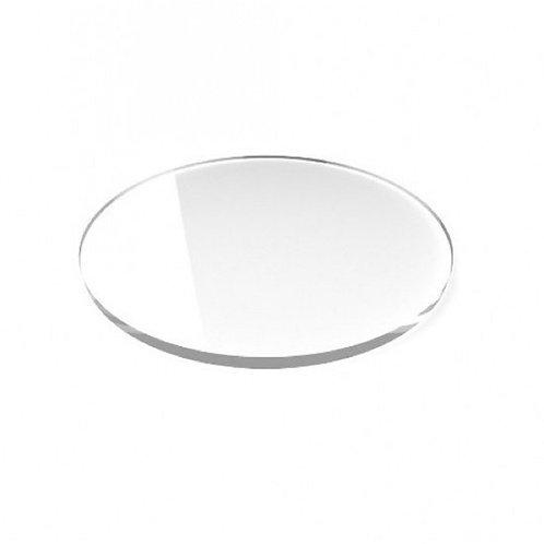 Acrilico Cristal 10x10cm 3mm Circulo, Redondo, Porta Copos CNC