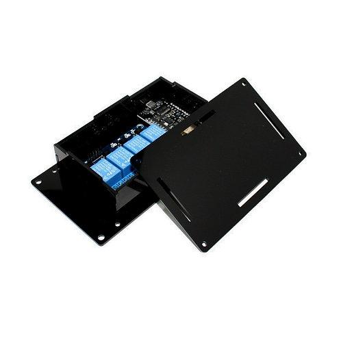 Caixa Case p/ Montagem Circuito Eletrônico M PRETA ESP8266