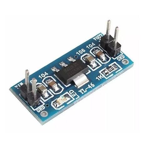 Modulo Regulador Tensão Ams1117 De 4.5v~7v Para 3.3v Esp8266 Arduino