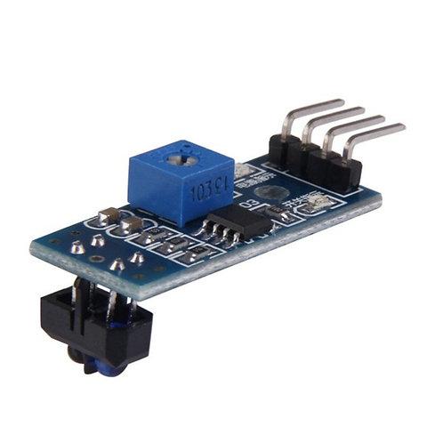 Sensor Ótico Reflexivo Tcrt5000 Infrared Track Line Arduino