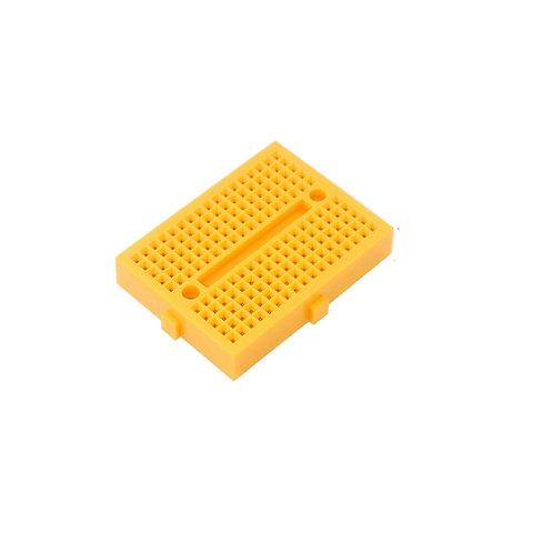 Protoboard 170 Pontos Amarela Esp8266 Arduino Eletronica