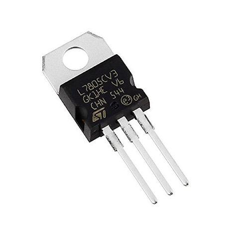 10 Unidades 7805 Lm7805 Regulador Tensão 5v To-220 Esp8266 Arduino