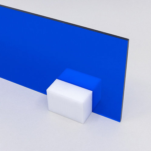 Acrilico Azul Translucido 15x15cm 3mm Corte Laser Cnc
