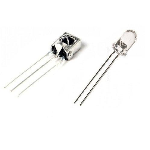 10 Unidades Tl1838 Emissor+receptor Infravermelho Arduino