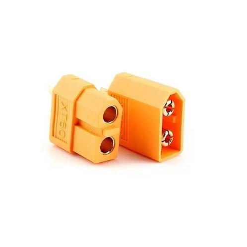 Xt60 Conector Plug Motor Bateria Modelismo Macho E Femea