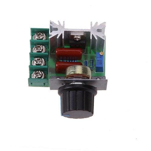 Dimmer Scr 2000w Pwm Controle Rotação Motor - 50 ~ 220v