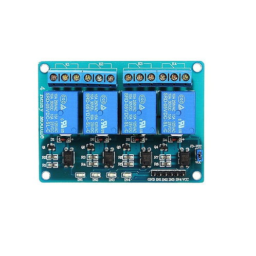 Rele 4 Canais 5v Modulo para Esp8266 Arduino Pic