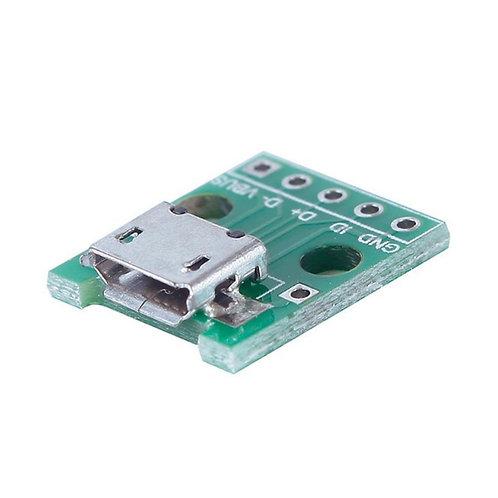Conector Micro Usb Femea, Pcb, Prototipo, Esp8266, Arduino