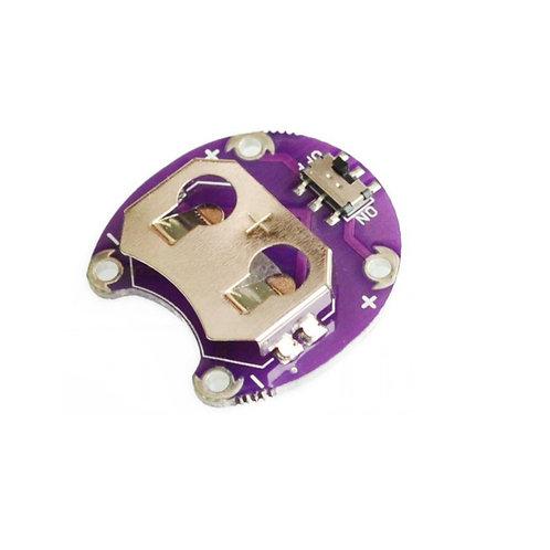 Cr2032 Suporte Da Bateria Modulo - Arduino Lilypad