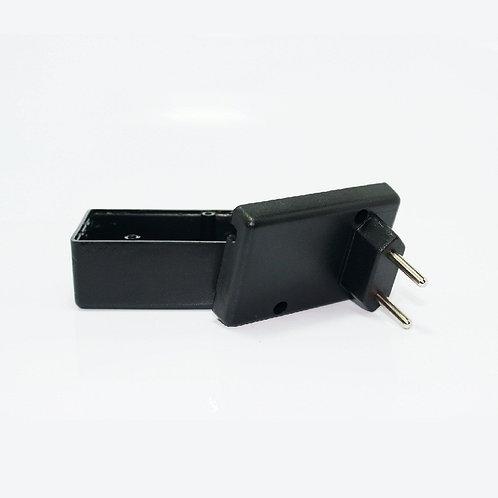 Caixa Montagem Circuito Tomada Com Plug Nbr P/ Esp8266
