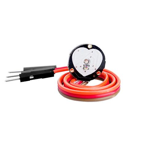 10 Unidades Sensor Pulso Bat. Cardiaco Arduino Esp8266