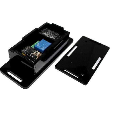 Caixa Case 76x35x20 Circuito Eletrônico XP PRETA Esp8266