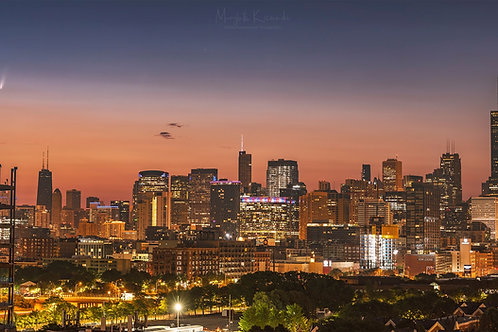Comet NEOWISE visits Chicago