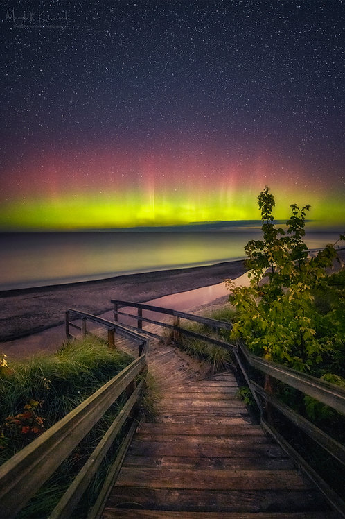 Lake Superior Aurora