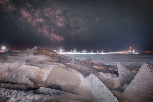Iced Milk over Mackinac