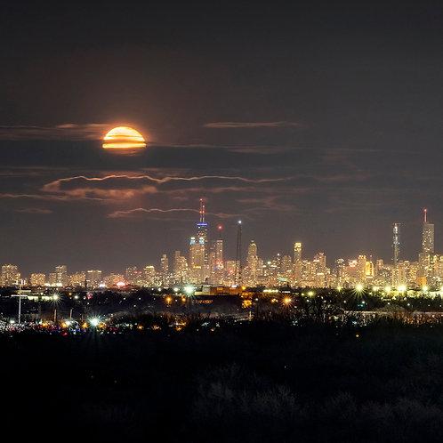 Chicago Moonrise