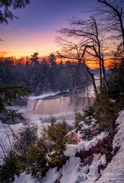 Tahquamenon Falls - Winter