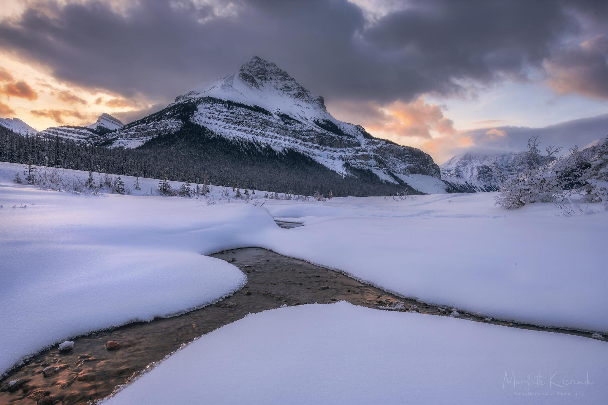 Tangled Peak - Sunrise