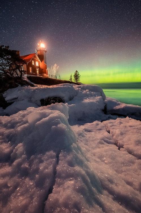 Eagle Harbor Winter Lights