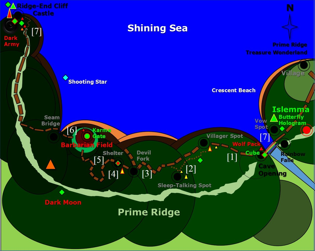Map - Chapter 4. Prime Ridge