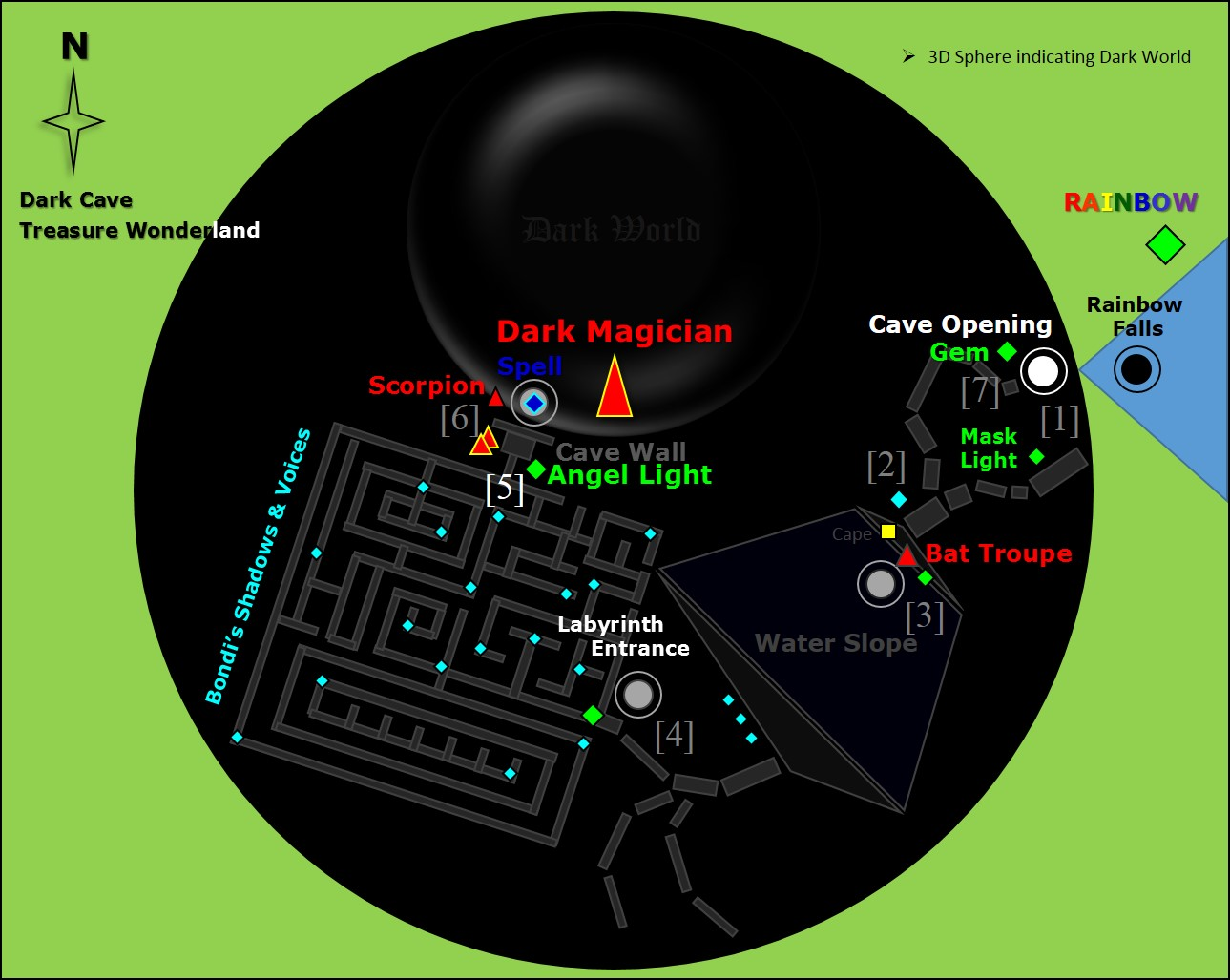 Map - Chapter 3. Dark Cave