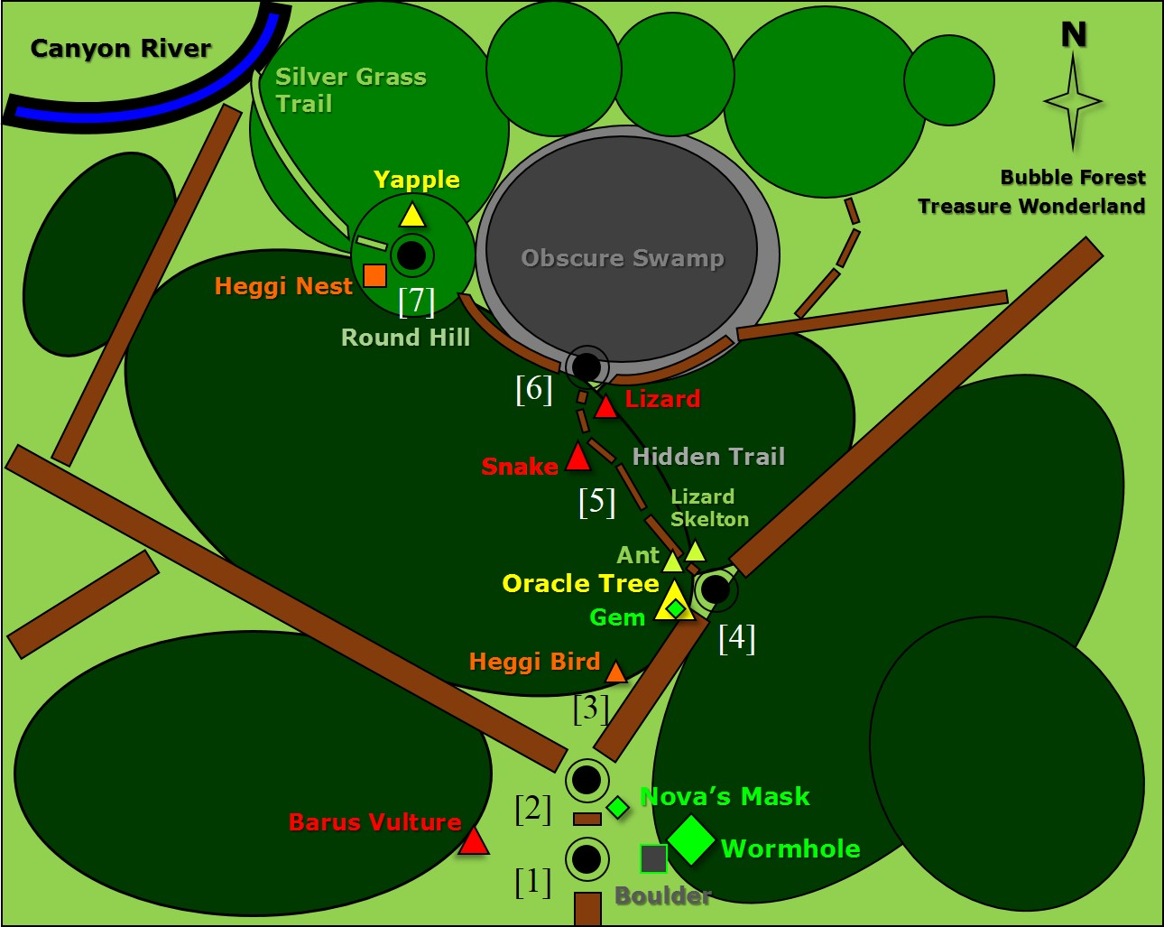 Map - Chapter 1. Bubble Forest