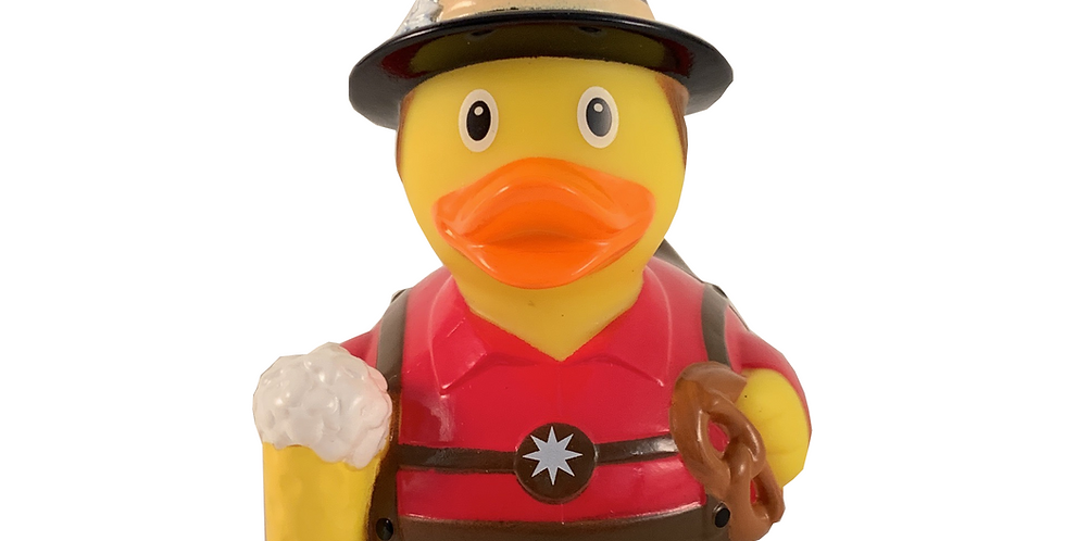 German Man Rubber Duck