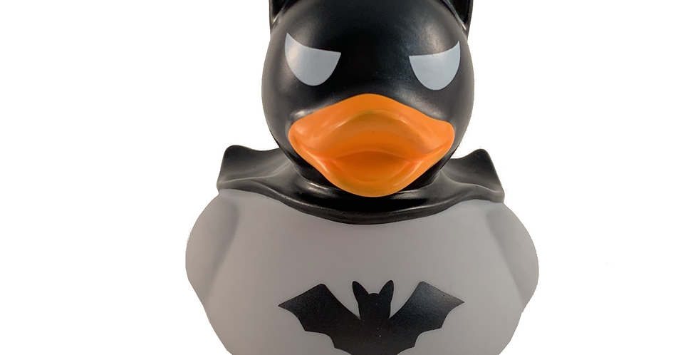 Grey Bat Rubber Duck