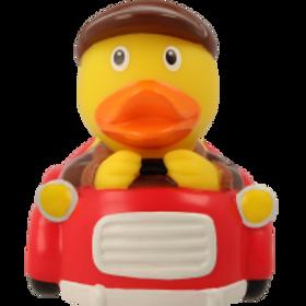 Car Driver Man Rubber Duck
