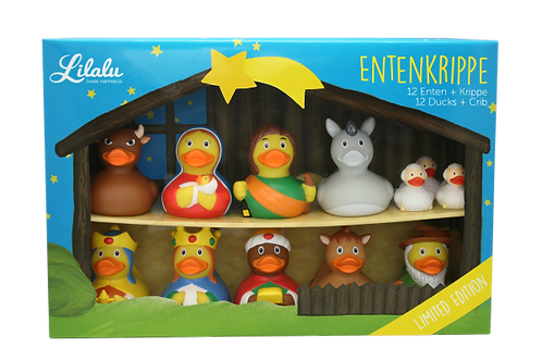 Nativity Rubber Duck Scene